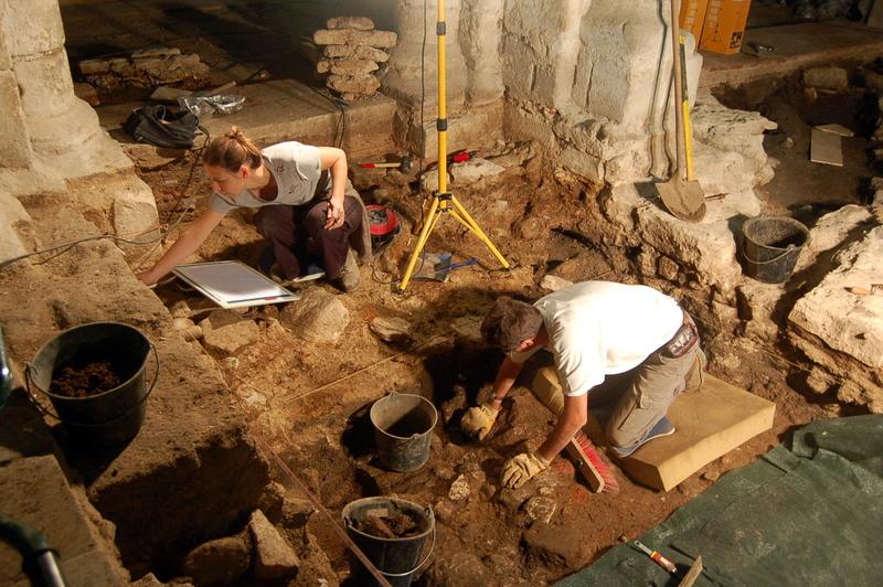 archeologie saint lupien