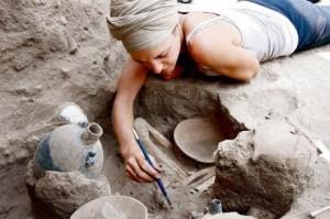fouilles et vestiges