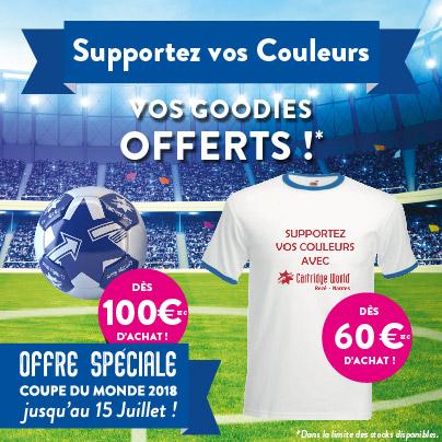 Goodies Coupe du Monde 2018
